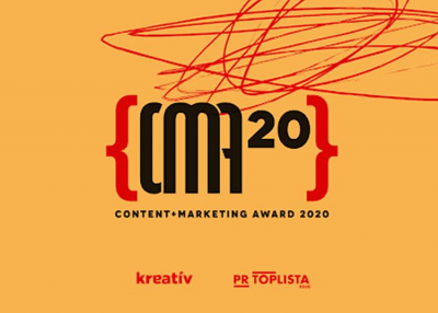 CONTENT+MARKETING AWARD, 2020. július 31.