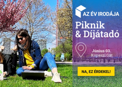 Az Év Irodája Piknik & Díjátadó - 2021. június 3.