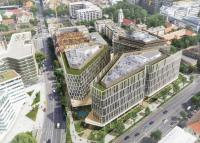A Skanska új irodakomplexumot fejleszt H2Offices néven. A Vízművek régi területe újjászületik