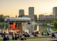 Ingyenes Duna-parti kertmozi nyílik a Kopaszi-gáton, 2021. augusztus 21-ig