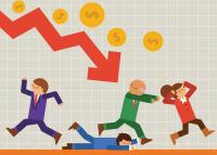 A pénzügyi rendszer összeomlása, a pénz értékvesztése